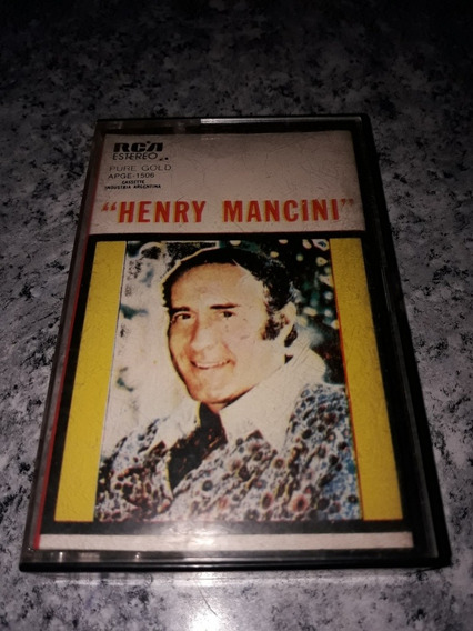 Henry Mancini Pure Gold Cassete 1980 Muy Raro!!!