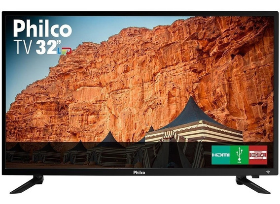 Tv Led 32 Hd Philco Ptv32c30d 2 Hdmi 1 Usb