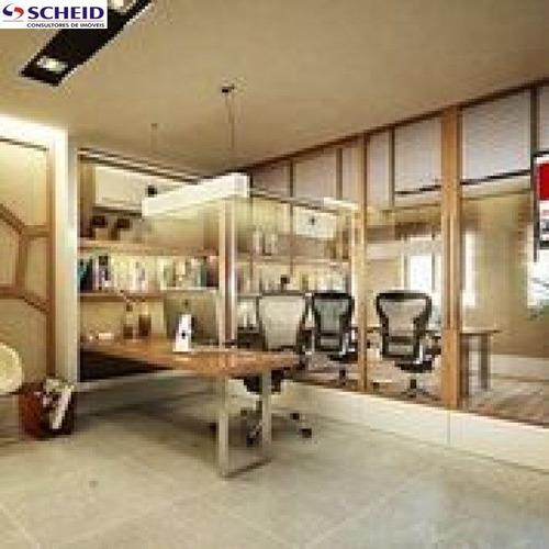 Imagem 1 de 2 de Sala Comercial Prédio Novo - Mr52976
