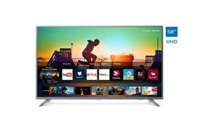 Televisor Philips Smart 4k Uhd Ultradelgado 58 58pud6513