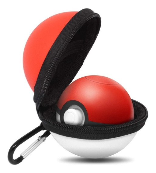 Capa Protetora Pokébola Ziper Pokémon Lets Go Plus