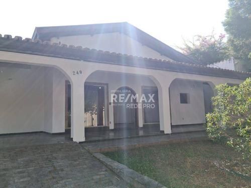 Imagem 1 de 30 de Casa Com 4 Quartos Para Alugar, 680 M² Por R$ 8.000/mês - Parque Taquaral - Campinas/sp - Ca7604