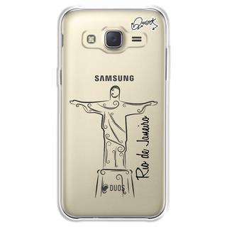 Capa Case Capinha Samsung J7- Cristo Rio De Janeiro 2