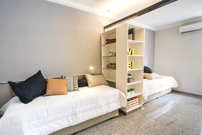 Flats Mobiliados Na Uliving Student Housing - Ape Duplo