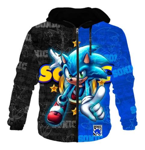 Chaquetas Niño Sonic --- Retro Videojuegos - Chaqueta