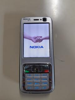 Celular Antigo Nokia N73 Desbloqueado Sem Acessórios