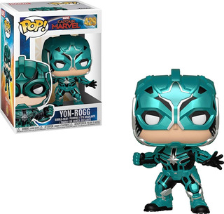 Funko Pop - Captain Marvel - Yon Rogg #429 - Nuevo