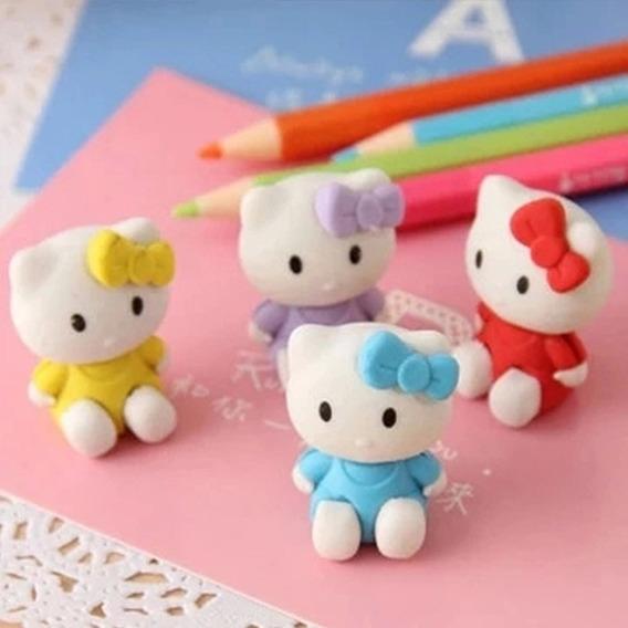 Borracha Divertida Hello Kitty * Material Escolar Fofa Linda