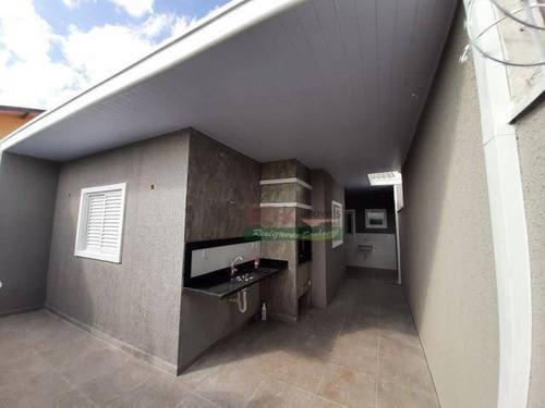 Casa Com 3 Dormitórios À Venda Por R$ 318.000 - Vila Das Flores - São José Dos Campos/sp - Ca4756