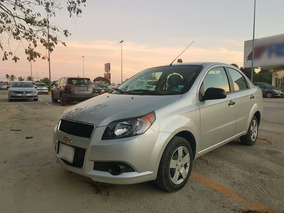 Chevrolet Aveo 1.6 Ls L4 At Plata 2015 En Cancún