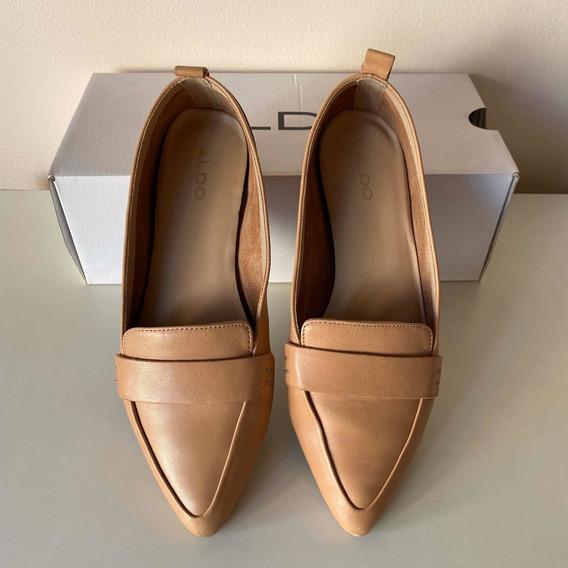 Aldo - Zapatos Tipo Ballerina En Punta Talle 37 1/2 (7.5 Us)