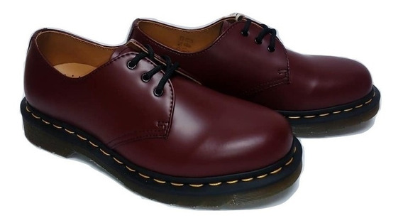 Zapatos Mujer 1461 Dr Martens Cherry Red Fabiuluzz