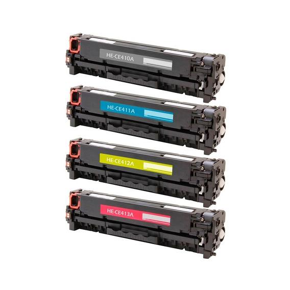 8 Toner Ce410 412 413 305a Laserjet Pro 400color Mfp