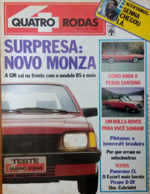 Revista 4 Rodas 298 Maio 1985
