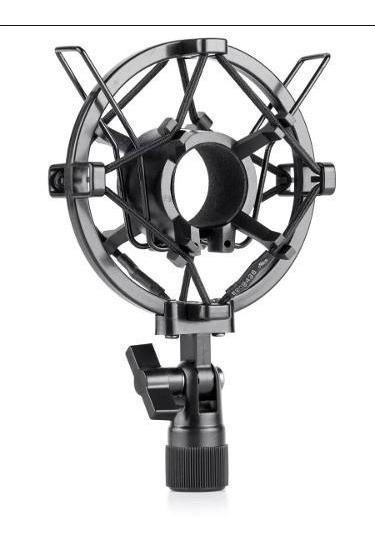 Shock Mount K1 Para Microfones Finos 30 A 33mm