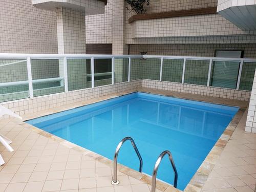 Imagem 1 de 14 de Apartamento 2 Dormitorio Lazer Completo 100m Praia Aml94