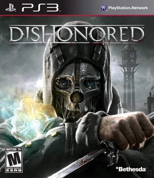 Jogo Dishonored Playstation 3 Ps3 Mídia Física Bethesda