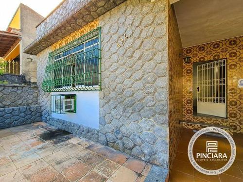 Casa Com 3 Dormitórios À Venda, 140 M² Por R$ 550.000,00 - Barreto - São Gonçalo/rj - Ca0146