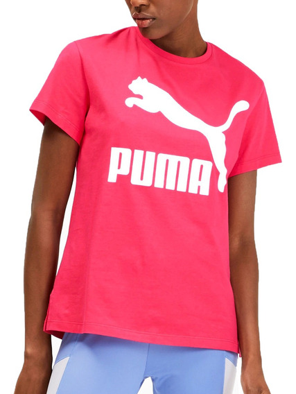 Remera Puma Moda Classics Logo Mujer Fu