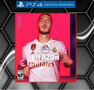 Fifa 20 Ps4 Digital Primaria