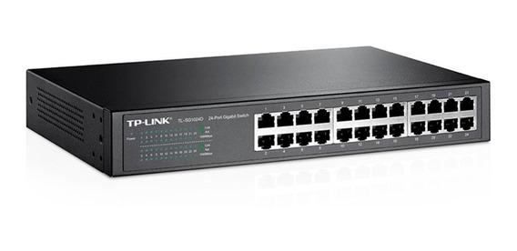 Switch Tp-link Tl Sg1024d 24 Puertos Gigabit 10/100/1000