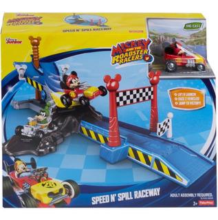 Mickey Sobre Ruedas - Disney - Pista Speed N Spill!!!