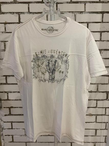 Camiseta Aramis Masculino Branca