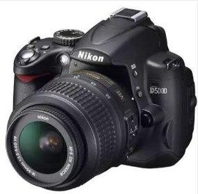 Câmera Nikon D5000 + 2 Baterias + Cartão 16gb + Bolsa