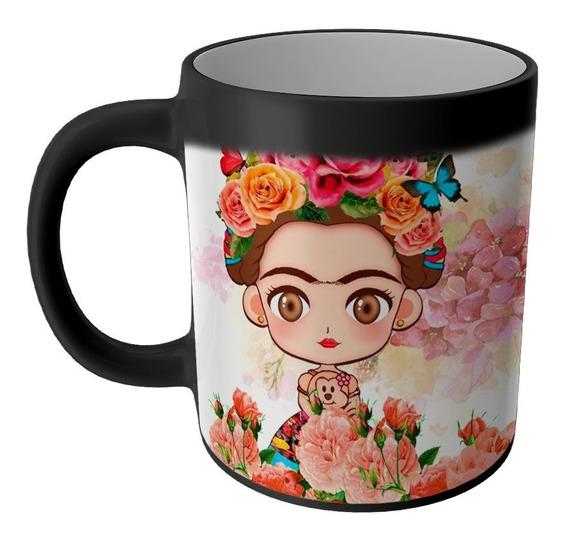 Taza Magica Frida Kahlo Productos Articulos Regalos Cosas Accesorios Taza Sublimada Personalizada Economica Modelo 18