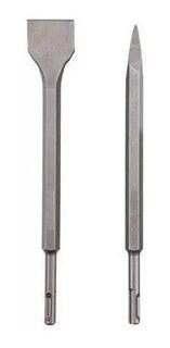 Kit Talhadeira Sds Plus + Ponteiro Sds Plus 250mm P/ Martelete