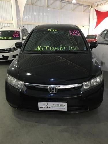 Honda Civic 1.8 Lxs Flex Aut. 4p 2008