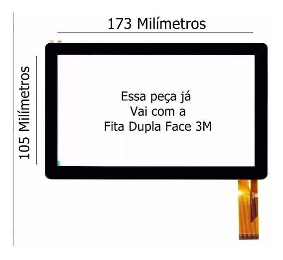 Tela Touch Tablet Q88 A13 Navcity 1711 1710 Promoção