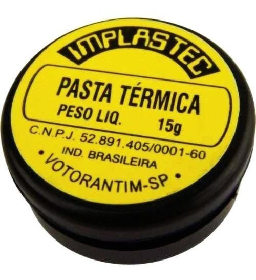 Pasta Termica 15g P/ Processadores Cpu Cooler Notebook Pc