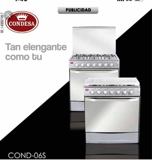 Cocina De 4 Hornilla Condesa