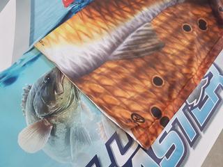 Sunmask Balaclava Buff Mascara Sol Pesca Caña Carrete Mod 5