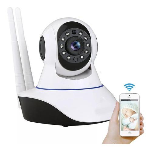 Imagen 1 de 10 de Cámara Ip Full Hd Wifi Motorizada Micro Sd Visión Nocturna