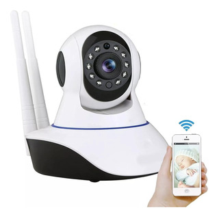 Cámara Ip Full Hd Wifi Motorizada Micro Sd Visión Nocturna