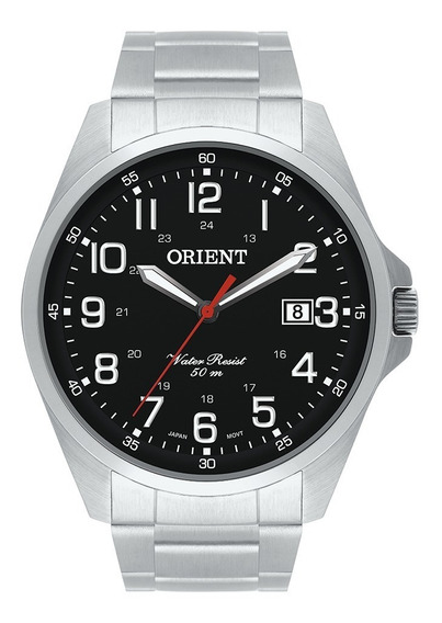 Relógio Orient Mbss1171 P2sx Aço Inoxidável Com Nf-e