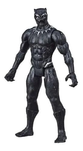 Imagem 1 de 10 de Boneco Pantera Negra Vingadores Marvel Articulado 30cm