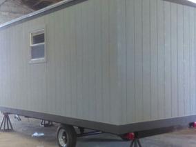 Oficina Movil Remolque Camper Caseta Con Wc 8x24 Pies P / 6