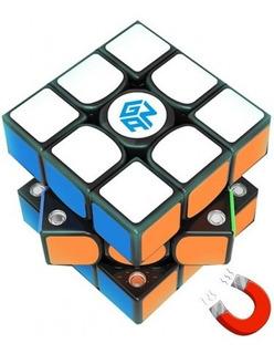 Cubo Rubik 3x3x3 Gan 356 X Ipg Numeral Black Speed Cubing