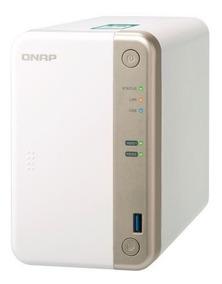 Servidor De Dados Nas Dual-core 2 Baias Ts-251b-2g Qnap
