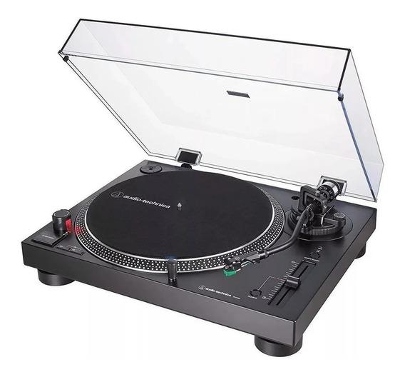 Toca Discos Audio Technica At-lp120 X Preto At-lp120xusb-bk