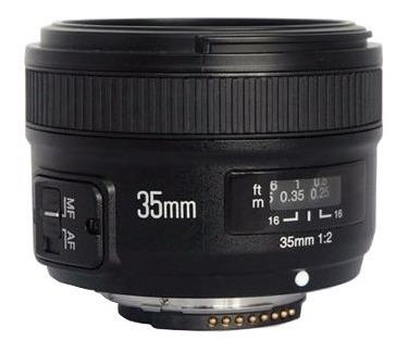 Lente Yongnuo Yn 35mm F2 Para Nikon