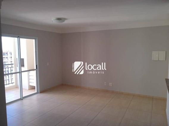 Apartamento Com 3 Dormitórios Para Alugar, 88 M² Por R$ 1.800/mês - Jardim Tarraf Ii - São José Do Rio Preto/sp - Ap1830