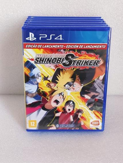 Naruto To Boruto Shinobi Striker Ps4 Mídia Física Promoção