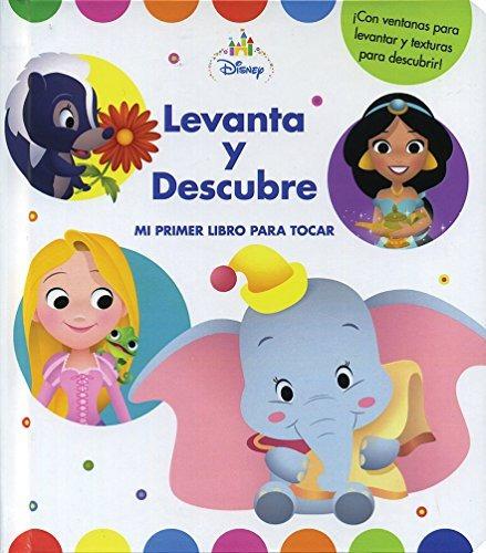 Imagen 1 de 1 de Libro Libro Bebe. Disney Baby. Levanta Y Descubre - Nuevo