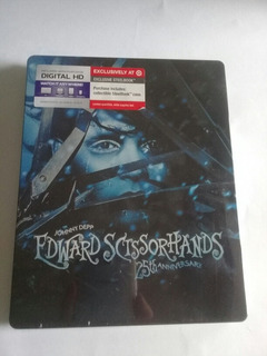 Johnny Depp Edward Sctssorhands 25th Annive Blu Ray Stelbook