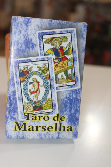 Tarot De Marselha 22 Cartas + Manual
