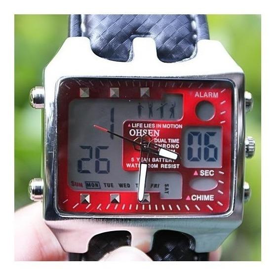 Reloj Deportivo 100% Original Rojo Para Nadar O Snorkel
